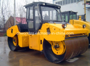 Road Construction Compactors with Two Steel Drums pictures & photos