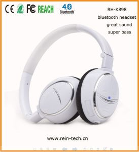 CSR4.0 Bluetooth Headset for Mobile Phone, Tablet PC (RH-K898-050)