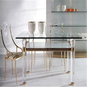 Modern Luxury Ergonomic Dining Furniture Restaurant Dining Table and Chair