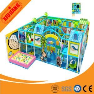 Attractive Indoor Maze Playground Slide for Children (XJ5053) pictures & photos