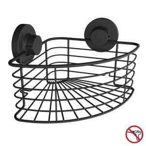 Stainless Steel Bathroom Shower Corner Basket with Super Rubber Suction Cups pictures & photos