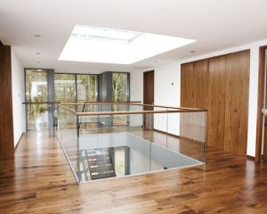 Tempered Clear Glass Railing with Aluminum Channel pictures & photos
