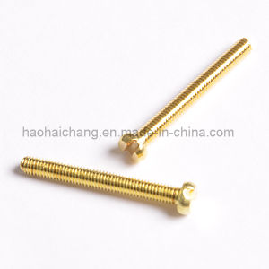 Ni-Plated Hex Washer Head Self Drilling Screw pictures & photos