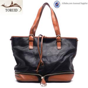 Hot Sale Woman Popular Fashion Totel Pou Leather Bag