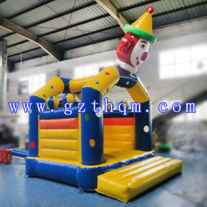 Clown Children′s Castle Inflatable Jump Bed/Lovely Commercial Inflatable Bouncer Castle for Adult pictures & photos