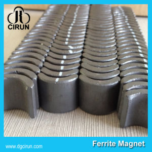 High Quality Arc Shaped Ferrite Ceramic Motor Magnet pictures & photos