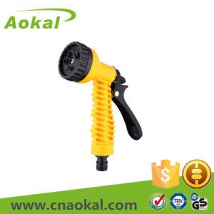 Garden Tools Adjustable Guns Spray 7 Pattern Plastic Water Spray Gun pictures & photos