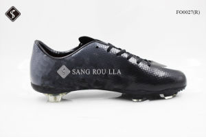 Sports Shoes Soccer Shoes with TPU Outsole pictures & photos