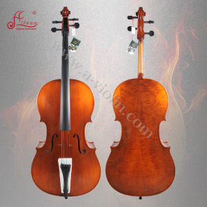 Hand Smooth Spirit Varnish Cello (ACL-368) pictures & photos