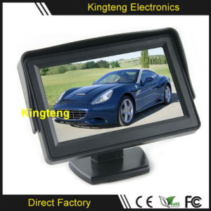 Stand Alone 4.3 Inch Car LCD Display Monitor 2AV Video Input