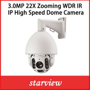 3.0MP 22X IP High Speed Dome CCTV Security PTZ Camera pictures & photos