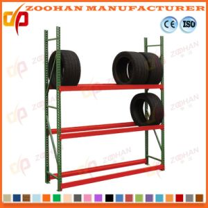 High Quality Metal Light Duty Tire Warehouse Storage Rack (Zhr124) pictures & photos