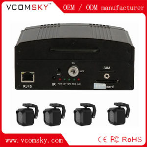 Economical HDD Mdvr for Local Record, 4CH H. 264 HDD Car DVR pictures & photos