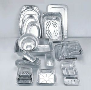 Alloy 8011-0 7 Microns Large Capacity Restaurant Use Aluminum Foil Container pictures & photos