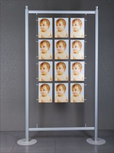 Aluminum Free Standing Display Frame pictures & photos