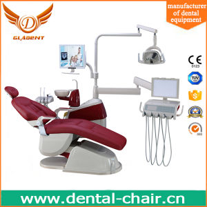 Dental Chair with Rotatable Small Glass Tray pictures & photos