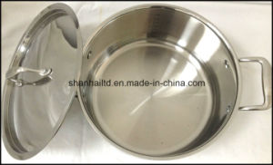 3 Ply Body Induction Cookware Set pictures & photos