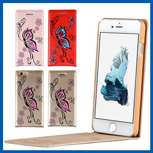 4.7 Inch up and Down Leather Case for iPhone 6s pictures & photos
