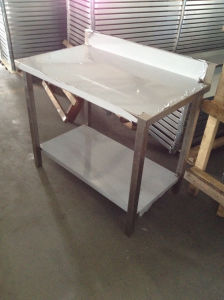 Worktable with Aluminum Die Cast (GRT-WT2424SS) pictures & photos