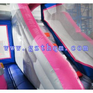 Inflatable Bouncer House with Slide/PVC Inflatable Bouncer/Inflatable Children Bouncy Castle pictures & photos