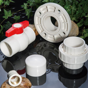 Customized Color PVC White Pipe and Fitting pictures & photos