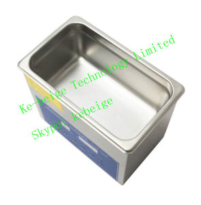 304 Stainless Steel Double Frequency Desk-Top Ultrasonic Cleaner with Heater pictures & photos