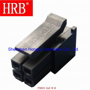 3.0mm Hrb Male Wire to Wire P3025 Connector pictures & photos