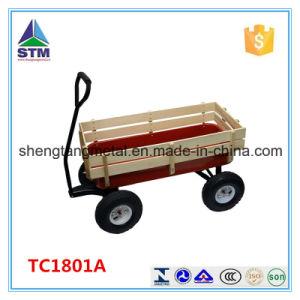 Wood Children Wagon Tool Cart Kids Wagon pictures & photos