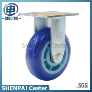 Heavy Duty Polyurethane Fixed Industrial Caster Wheel pictures & photos
