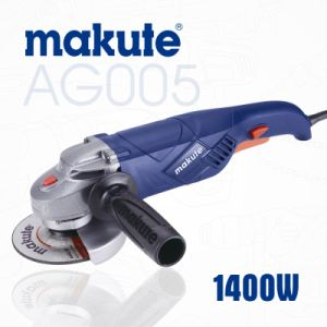 Makute High Power Tool 125mm 1400W Angle Grinder (AG005) pictures & photos