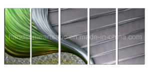 3D Handmade Abstract Design Aluminum Painting for Home Deco (CHB6015076) pictures & photos