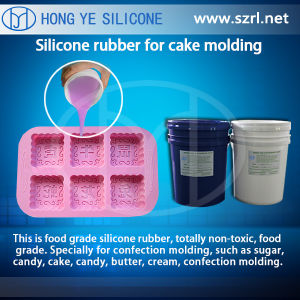 FDA Platinum Silicone Rubber for Cake Mold pictures & photos