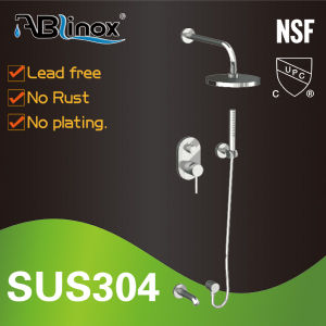 Stainless Steel Temperature Control Shower Faucet (AB214) pictures & photos