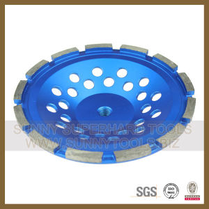 Coarse/Medium/Fine Abrasive Diamond Stone Grinding Disc Cup Wheel pictures & photos
