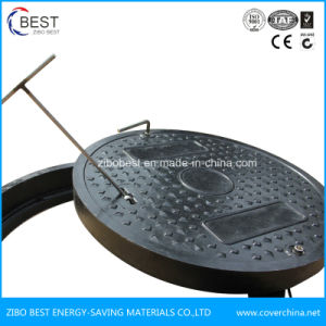 A15 Round 500X30mm FRP GRP Anti Theft Manhole Cover pictures & photos