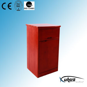 High Quality Solid Wooden Hospital Bedside Cabinet (K-10) pictures & photos