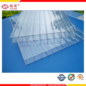 Double-Wall Hollow Sheet Polycarbonate Twin-Wall Policarbonato Panel for Roofing Cover with Factory Price pictures & photos