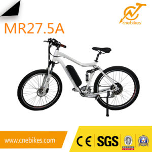 Manufacturer 500W/750W 36V /48V Front Suspension Mountain Electric Bike pictures & photos