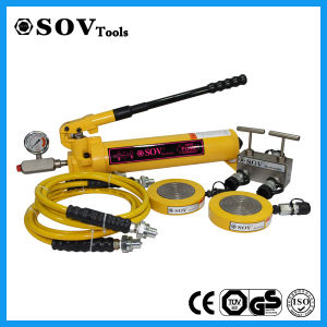25 Tons Extremely Low Height Hydraulic Jack for Limited Space pictures & photos