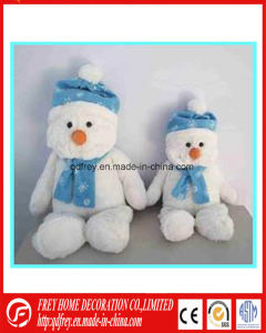 New Fahion Christmas Plush Snowman Toy pictures & photos
