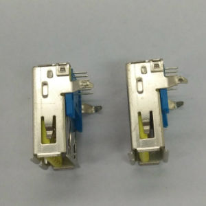 USB3.0 A/F 90 Degree DIP Yellow pictures & photos