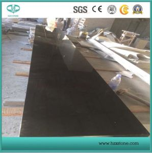 Absolute Black/Polished/Pure Black/Shanxi Black Granite for Countertop, Vanity Top Slabs Tiles, Paving Stone, Stairs, Tombstone pictures & photos