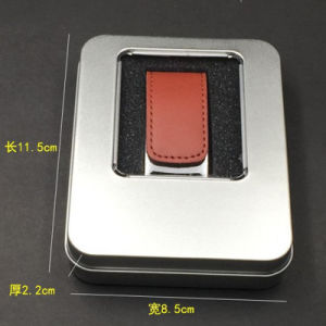 Promotional Business Gift Leather USB Flash (YT-5116) pictures & photos