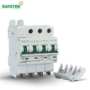 Solar DC Circuit Breaker DC1000V 4 Pole 6A-63A DC MCB pictures & photos