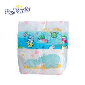 Good Quality Baby Diaper with Cotton Backsheet PE Tape OEM Provided pictures & photos