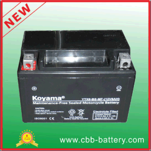 12V8ah Lead Acid AGM Motorcycle Gel Battery Ytx9-BS-Mf pictures & photos