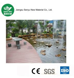 Outdoor WPC Decking Wood Plastic Compoite Flooring pictures & photos