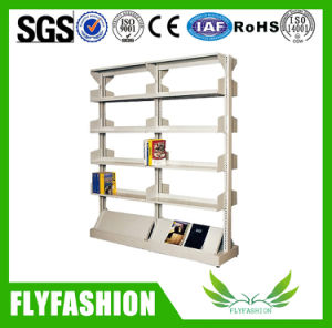 Wooden Library Double Face Bookshelf for Putting Book pictures & photos