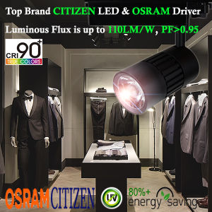 Ga69 Global Adaptor 50W COB LED Tracklight with Osram Driver Ce RoHS pictures & photos
