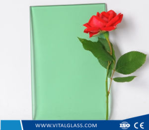 Dark Green/Dark Blue Colored Float Glass/Tinted Glass pictures & photos